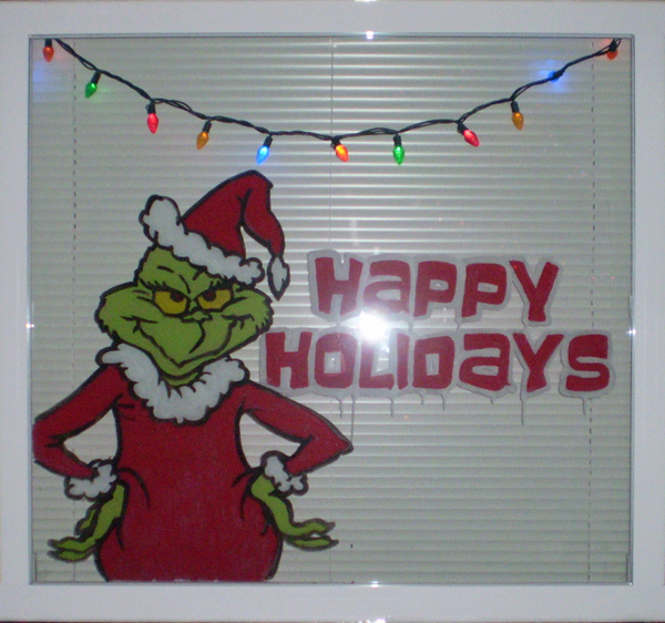 Grinch window
