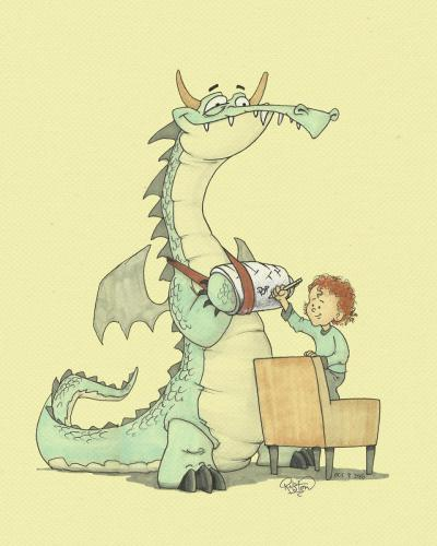 Bram and the Dragon